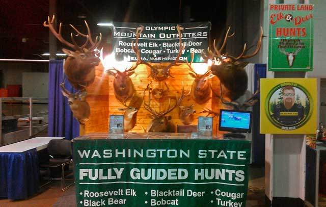 Olympic Mountian Outfitters Show Booth